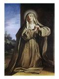 Saint Margarita Da Cortona Giclee Print by  Guercino (Giovanni Francesco Barbieri)