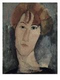 Portrait of Pardy Giclee Print by Amedeo Modigliani