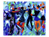 Joyful Dance Giclee Print by Diana Ong