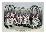 The Flower Dance Giclee Print by  Currier & Ives