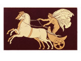 Chariot Race (Vase) Giclee Print