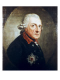 Frederick the Great Giclee Print by Anton Graff
