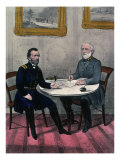 Surrender of General Lee, at Appomattox Court Giclee Print by  Currier & Ives