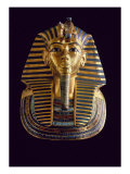 Tutankhamen: The Gold Mask Giclee Print