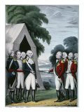 Surrender of Cornwallis Giclee Print by  Currier & Ives