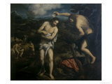 Baptism of Christ Giclee Print by Paris Bordone