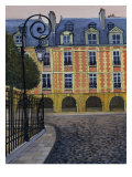 La Place Des Vosges Giclee Print by Isy Ochoa