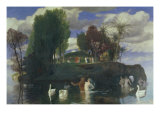 The Island of Life Giclee Print by Arnold Bocklin