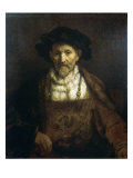 Portrait of an Old Man Giclee Print by  Rembrandt van Rijn