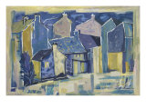 Village Houses 4 Giclee Print by MacEwan