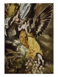 Assumption of the Virgin, Detail Giclee Print by  El Greco