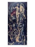 Zmartwychwstanie Wydruk giclee autor El Greco