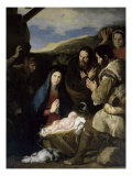 Adoration of the Shepherds Giclee Print by Jusepe de Ribera