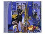 Self-Portrait in the Studio Giclee Print by Isy Ochoa