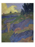 Breton Eve (Melancholy) Giclee Print by Paul Serusier