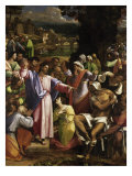 The Raising of Lazarus Giclée-tryk af Sebastiano del Piombo