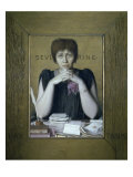 Madame Severine Premium Giclee Print by Louis Welden Hawkins