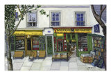 Shakespeare and Company, Paris Giclee Print by Isy Ochoa