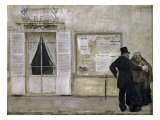 Guests Awaiting a Wedding Giclee Print by Jean Francois Raffaelli