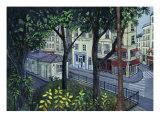 Hotel Du Nord Giclee Print by Isy Ochoa