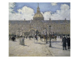 The Invalid Soldiers Giclee Print by Jean Francois Raffaelli