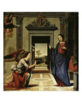 The Annunciation (Predella Detail) Giclee Print by  Benvenuto di Giovanni