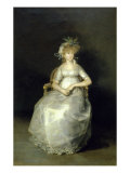 La Comtesse de Chichon Giclee Print by Francisco de Goya