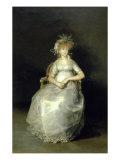 La Comtesse de Chichon Giclee Print by Francisco de Goya