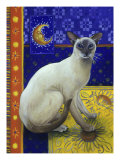 Siamese Cat, Series I Giclee Print by Isy Ochoa