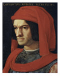 Portrait of Lorenzo the Magnificent Premium Giclee Print by Agnolo Bronzino