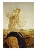 The Duchess of Urbino Giclee Print by  Piero della Francesca