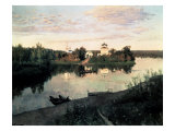 Evening Bells Giclee Print by Isaak Ilyich Levitan