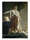 Napoleon En Costume Giclee Print by Anne-Louis Girodet de Roussy-Trioson