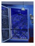 View on Montmartre (Vue Sur Montmartre) Giclee Print by Isy Ochoa