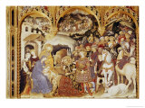 Adoration of the Magi Giclée-Druck von Gentile Da Fabriano
