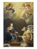 Annunciation Giclée-Druck von Simon Vouet
