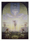 Morning Giclee Print by Philipp Otto Runge