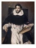Fray Hortensio Felix Paravicino Giclée-Druck von  El Greco