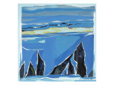 Blue Shore Giclee Print by MacEwan 