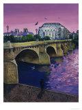 Le Pont Neuf Giclee Print by Isy Ochoa