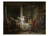 Joan of Arc in the Prison of Rouen Giclee Print by Pierre Henri Revoil