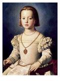 The Illegitimate Daughter of Cosimo I de Bia Giclée-tryk af Agnolo Bronzino