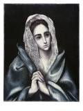 Mater Dolorosa Giclee Print by  El Greco