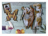 The Three Graces II Giclee Print by Gerry Charm