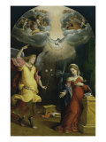 The Annunciation Premium Giclee Print by  Garofalo