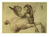 Pegasus Gicle-tryk af Jacopo de'Barbari