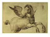 Pegasus Giclée-tryk af Jacopo de'Barbari