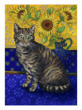 European Cat, Series I Giclee Print by Isy Ochoa