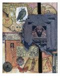 Judaica Archaica Giclee Print by Gerry Charm