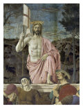 Resurrection of Christ, Detail Giclee Print by  Piero della Francesca